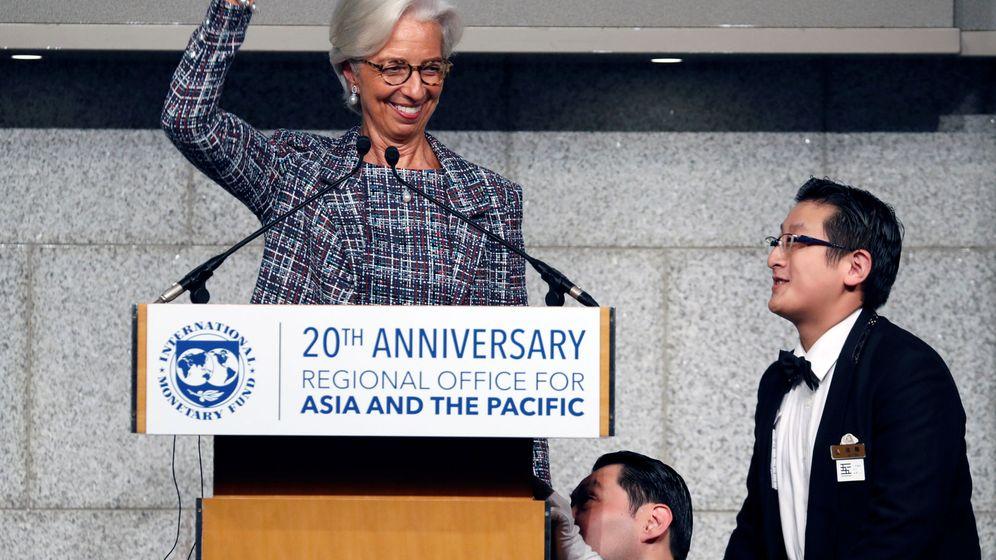Foto: La presidenta del Fondo Monetario Internacional, Christine Lagarde. (Reuters)