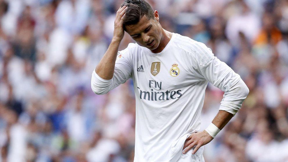 El récord de Raúl paraliza a un Cristiano que de pronto se ha quedado a ciegas