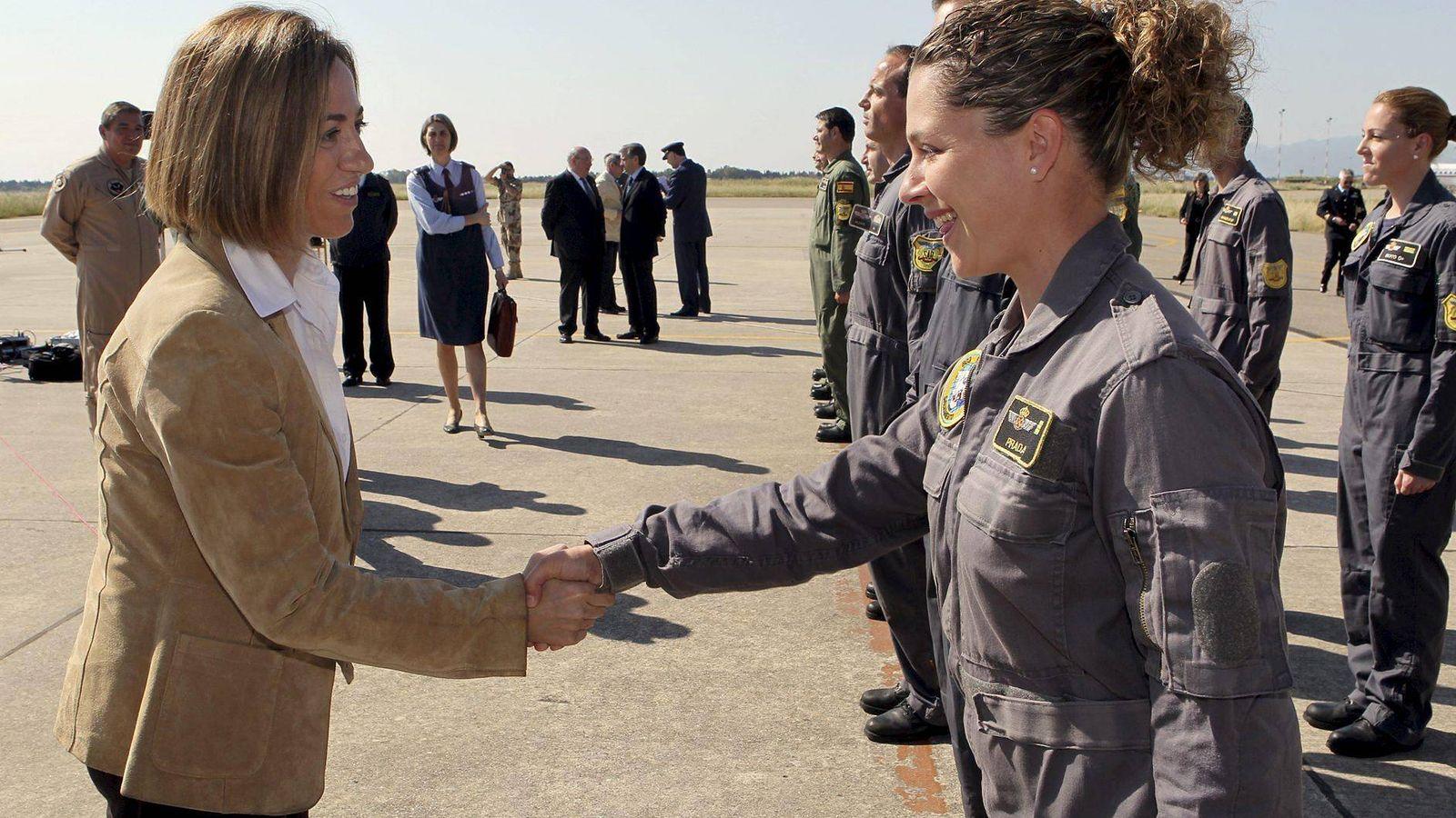 Foto: Carme Chacón, en su etapa como ministra de Defensa. (EFE)