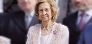 Post de La Reina Sofía vive