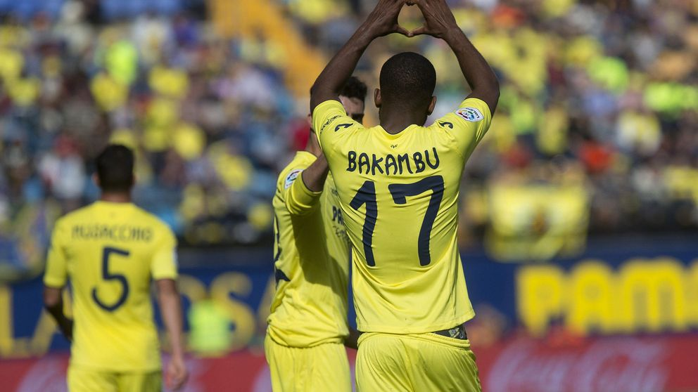 El Villarreal gana al Leganés con un gol de Bakambu marcado con una mano