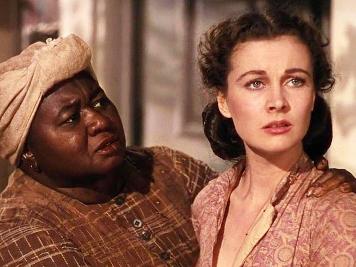 Foto: Hattie McDaniel y Vivien Leigh, en una escena de 'Lo que el viento se llevó'.