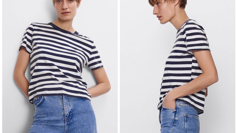 Nueva camiseta de Zara. (Cortesía)