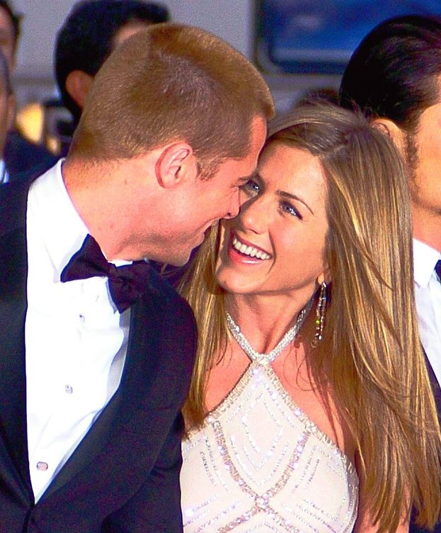 Foto: Brad Pitt y Jennifer Aniston en una imagen de archivo. (Gtres)
