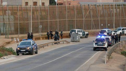 Marruecos aborta varios intentos de entrada de migrantes a Melilla la madrugada del lunes