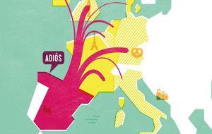 Los jóvenes huyen del Sur de Europa con la esperanza de volver