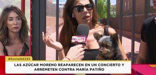 Post de Las Azúcar Moreno arremeten contra María Patiño: