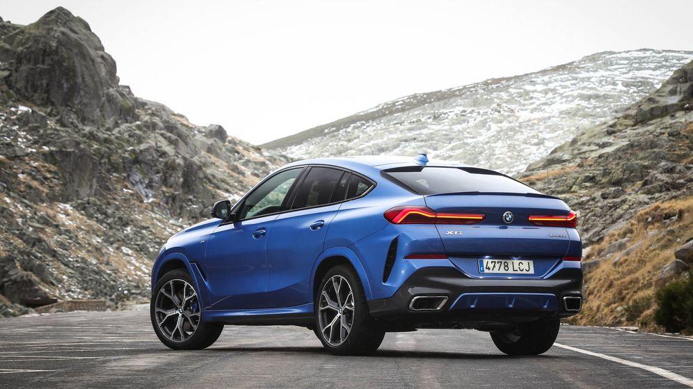 Foto: Nuevo BMW X6, aún más dinámico por sus dimensiones y más deportivo por sus motores.