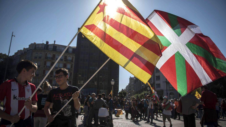 El apoyo al referéndum soberanista vasco en el electorado de Podemos supera al del PNV