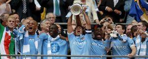 El City gana la Copa inglesa, su primer trofeo en 35 años