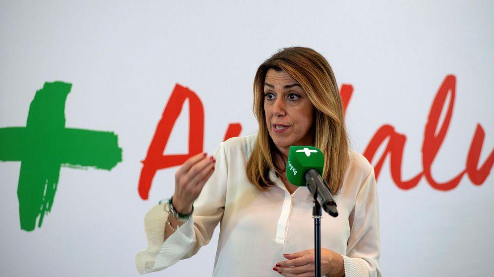 Foto: La secretaria general del PSOE-A y presidenta de la Junta y candidata a la reelección, Susana Díaz. (EFE)