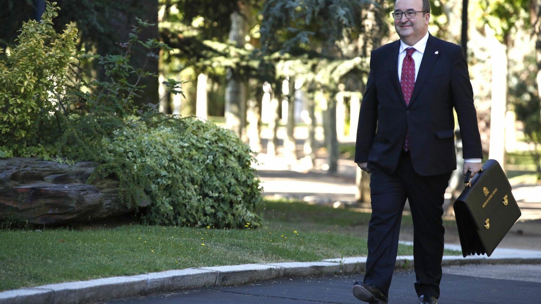 El ministro de Cultura y Deportes, Miquel Iceta. (EFE)