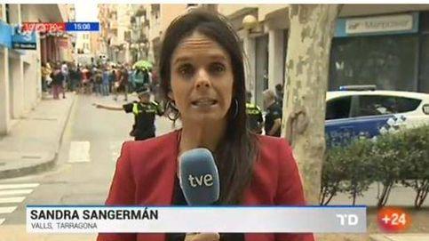 Un reportero de TVE es presuntamente agredido mientras retransmite los registros en Cataluña