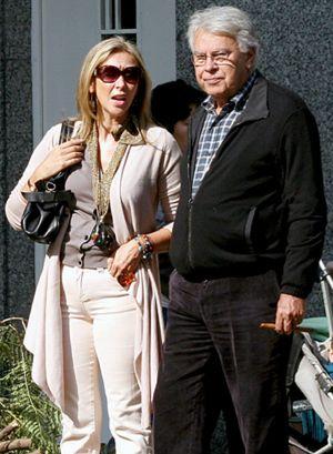 Felipe González y su novia no piensan en boda