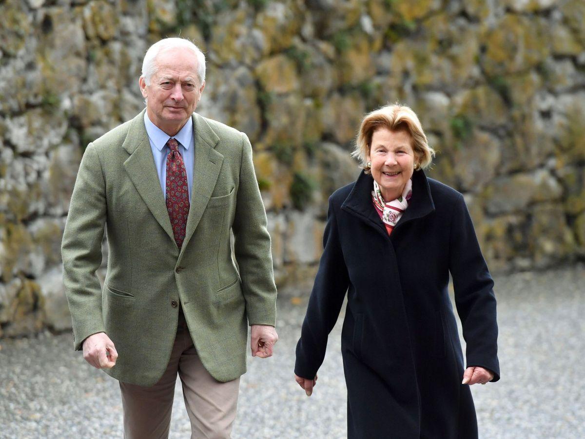 Foto: Hans Adam y Marie de Liechtenstein. (Efe)