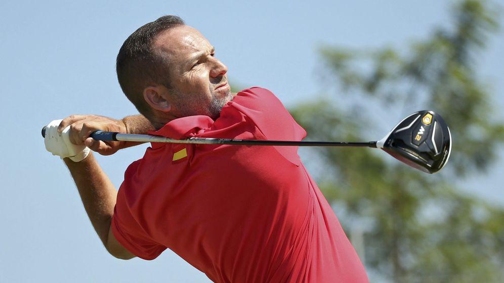 Foto: Sergio García durante la disputa del torneo olímpico en Río (Reuters)