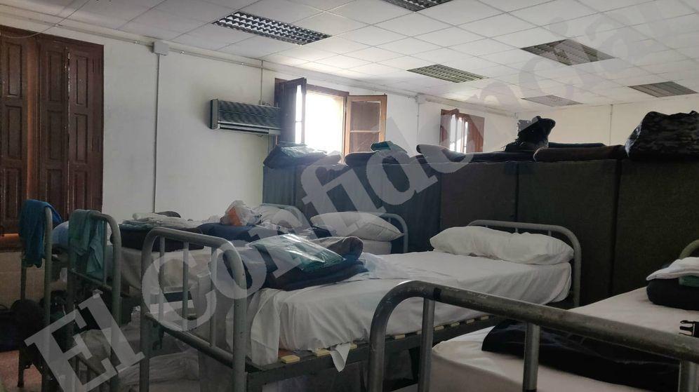 Foto: Imagen de una de las habitaciones. (EC)