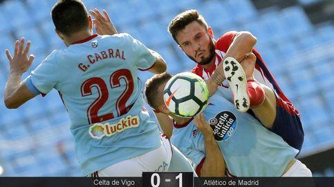 Un gol de Gameiro le da tres puntos a un Atleti que se pasa la vida pidiendo la hora