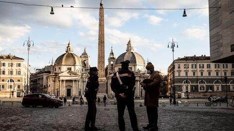 Detienen en Italia a dos miembros de un grupo antirestricciones por poner una bomba