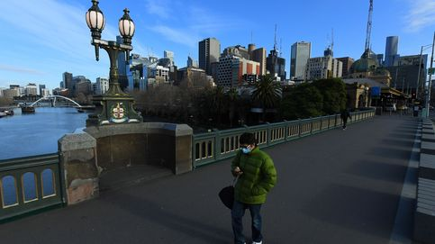 Toque de queda y cierre de negocios no esenciales para frenar al virus en Melbourne
