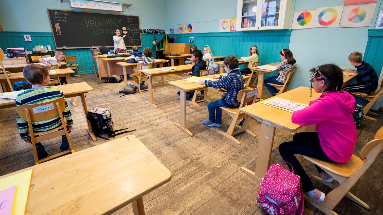 Una escuela noruega. (Reuters)
