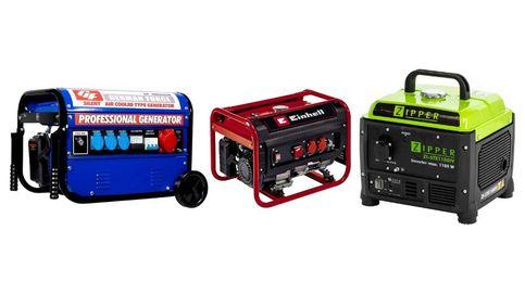 Generadores eléctricos para tener corriente en casa o de camping