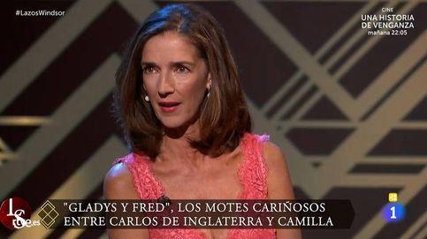 Paloma García Pelayo machaca al príncipe de Gales: Fue un cerdo