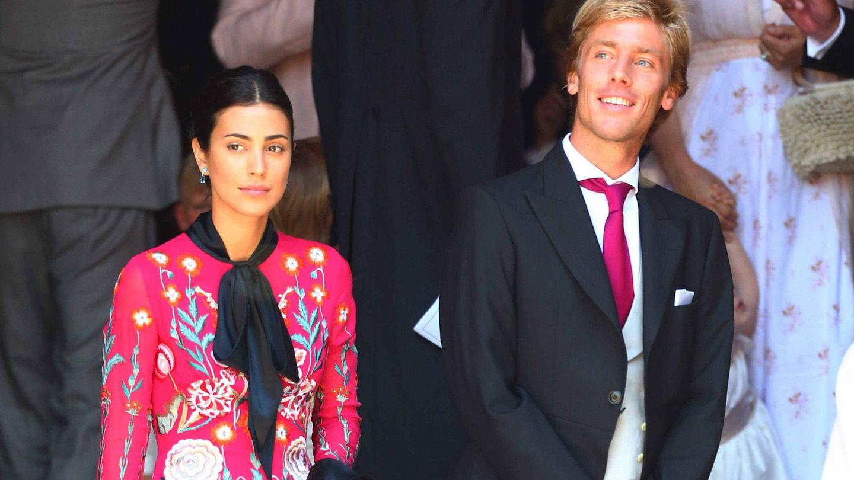 Sassa de Osma y Christian de Hannover,  en la boda de sus cuñados. (Gtres)