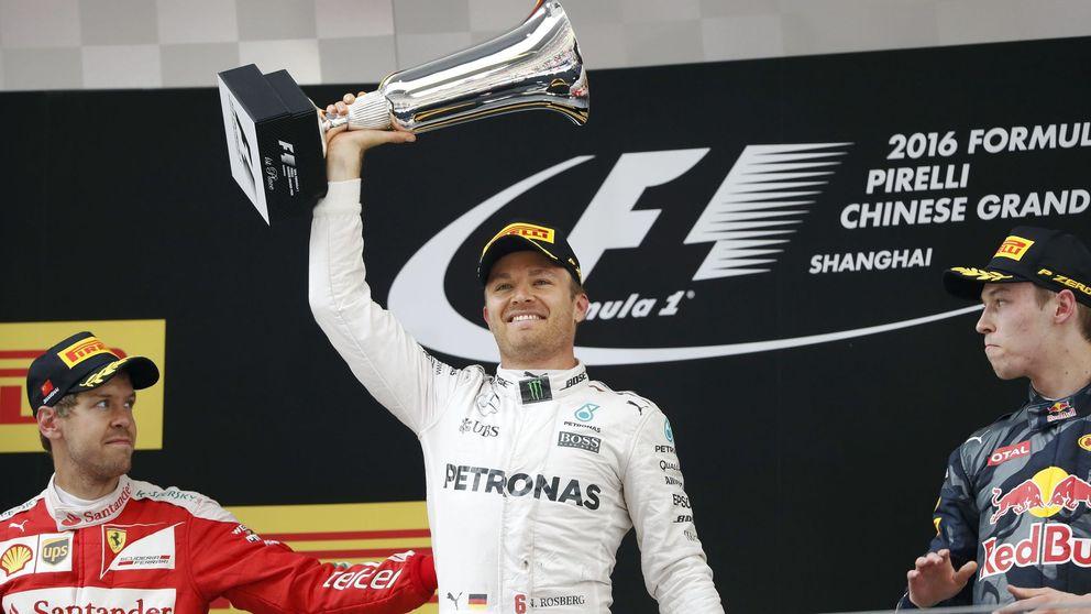 Rosberg gana en China con Sainz noveno y McLaren fuera de los puntos
