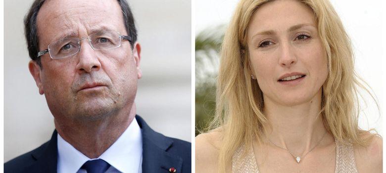 Foto: Hollande-Gayet, el lío de faldas presidencial ya es un asunto de Estado