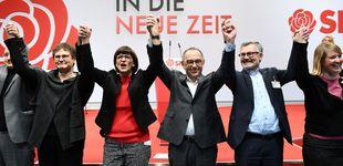 Post de Los Jusos, los cachorros socialistas que han asaltado el SPD y tensan la 'coalición Merkel'