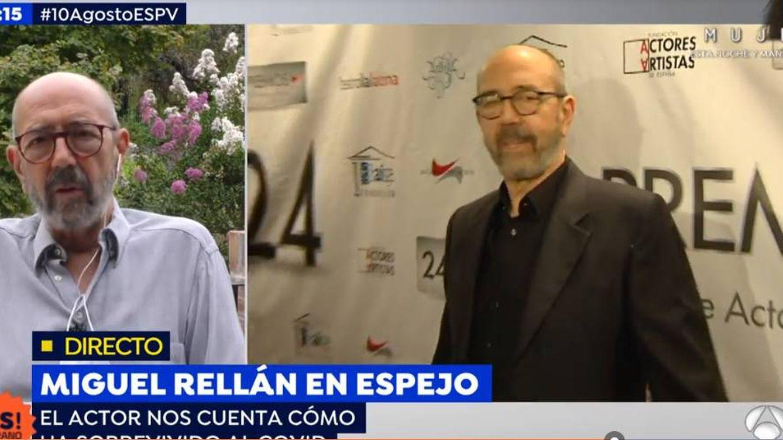 Miguel Rellán, sin pelos en la lengua: Maltratar a un animal para que yo me divierta no es cultura