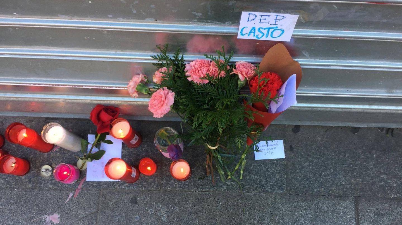 Los amigos y conocidos de Casto han dejado mensajes de despedida.