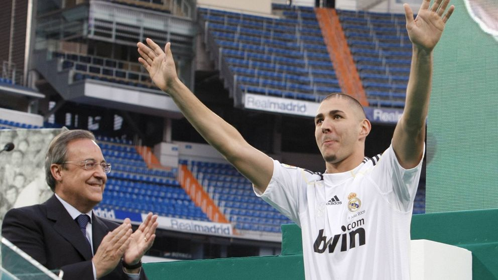 Benzema ensucia la imagen del Madrid y la confianza de Florentino, su valedor