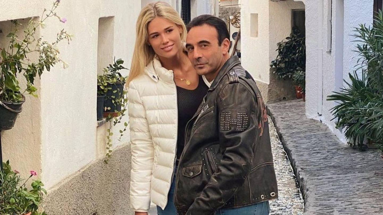 Enrique Ponce y Ana Soria durante un paseo en pareja. (Instagram @enriqueponce)