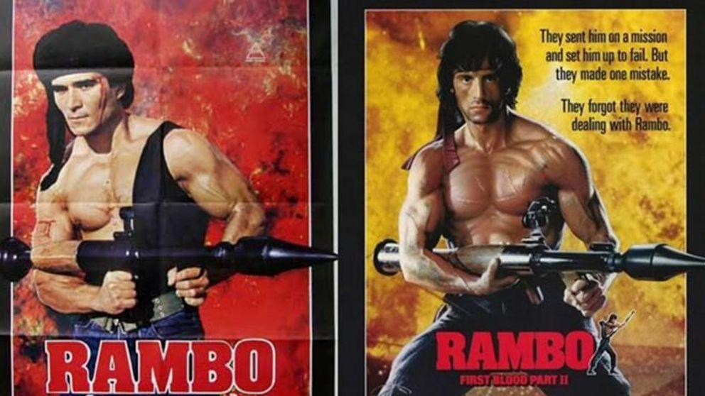 El hilarante timo del falso Rambo