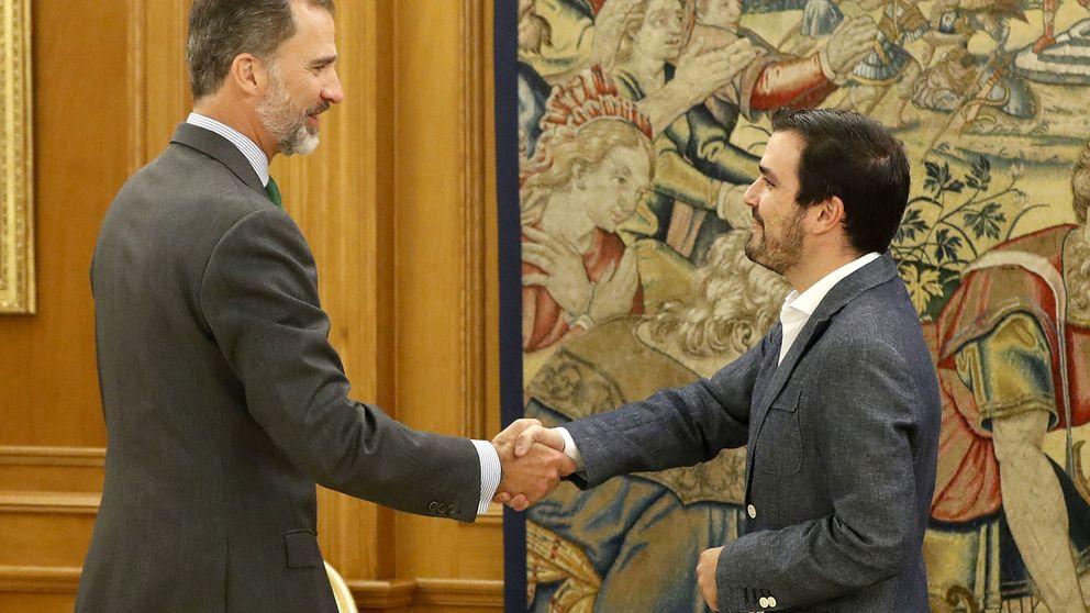 Garzón: Rajoy será presidente sólo por el PSOE. Es un fraude y una traición