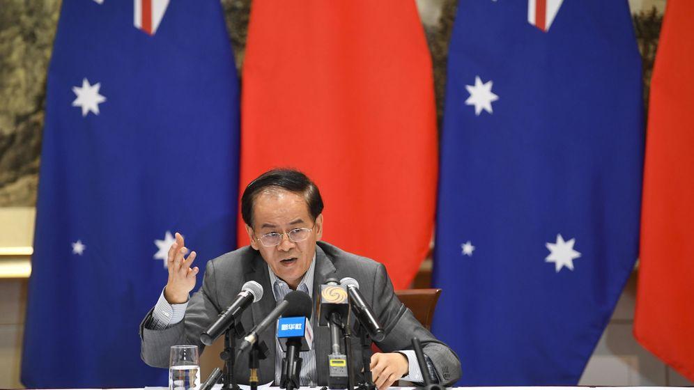 Foto: El embajador de China en Australia, Cheng Jingey. (Efe)