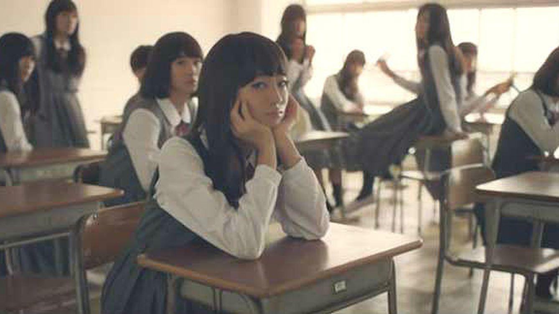 Colegialas japonesas: el inimaginable aspecto de unas niñas al desmaquillarse