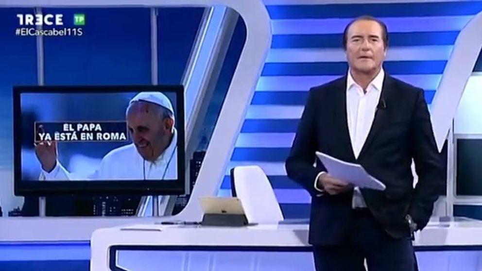 Antonio Jiménez teme por su futuro en Trece: 'El cascabel' se vuelca con el Papa  Francisco