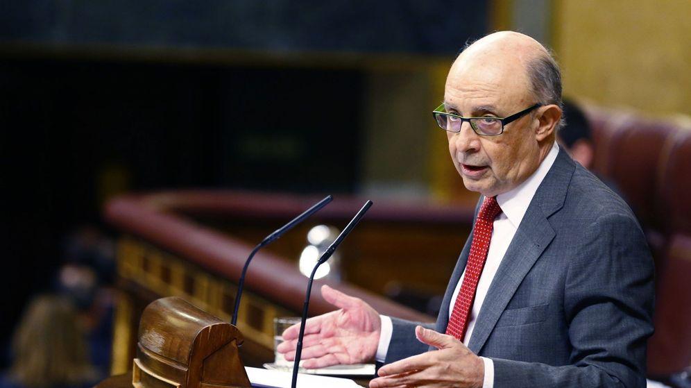 Foto: El ministro de Hacienda y Función Pública, Cristóbal Montoro. (EFE)
