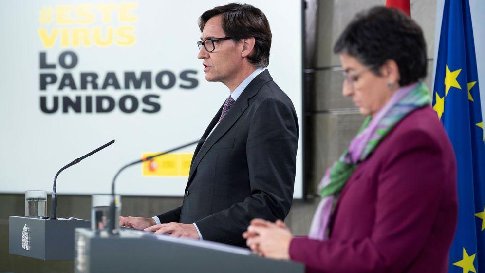 Foto: Rueda de prensa sobre el coronavirus