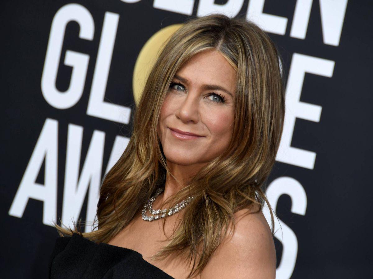Foto: Jennifer Aniston en los Globos de Oro de 2020. (Cordon Press)