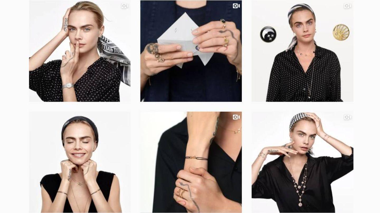 Cara Delevingne para Dior. (Instagram @dior)