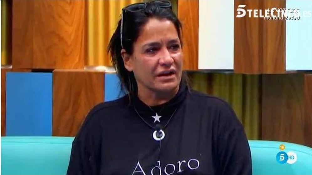 Foto: Aida rompe a llorar el confesionario de 'GH VIP'.