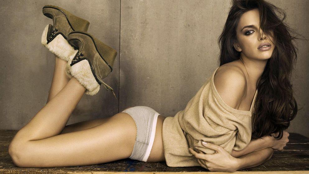 Irina Shayk, una sexy boxeadora de alta costura que pega fuerte