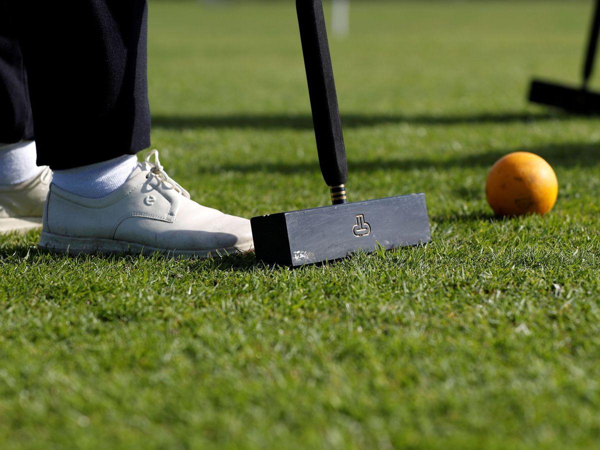 Foto: El croquet, uno de los deportes más asociados a la nobleza. (Reuters)