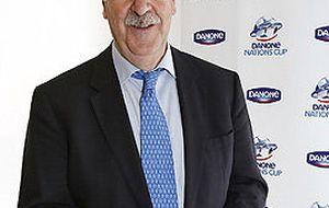 Vicente del Bosque, embajador de la Danone Nations Cup en España