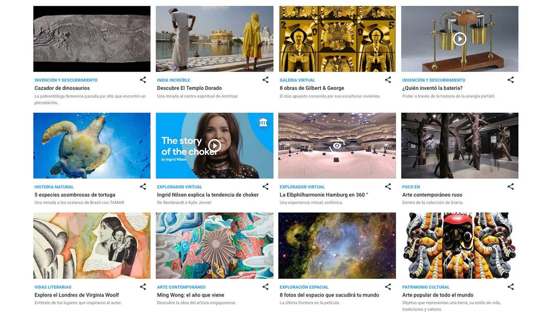 Miles de años de inventos, en la mayor exposición virtual de Google