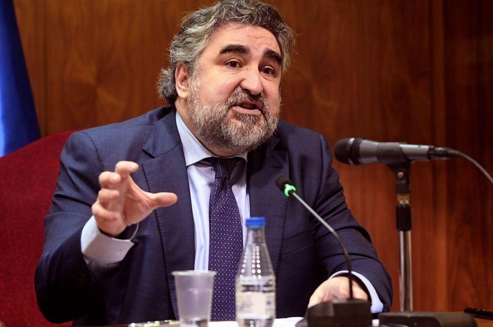 Foto: José Manuel Rodríguez Uribes, nuevo ministro de Cultura, en diciembre de 2018, cuando era delegado del Gobierno en Madrid. (EFE)